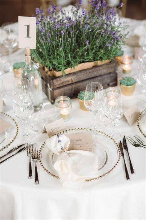 charming  romantic lavender wedding ideas