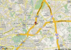Comfort Inn Paris Map Of Comfort Inn Capitol Gateway Hyattsville