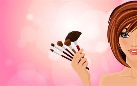 imagenes vintage maquillaje maquillaje de fondo descargar vectores premium