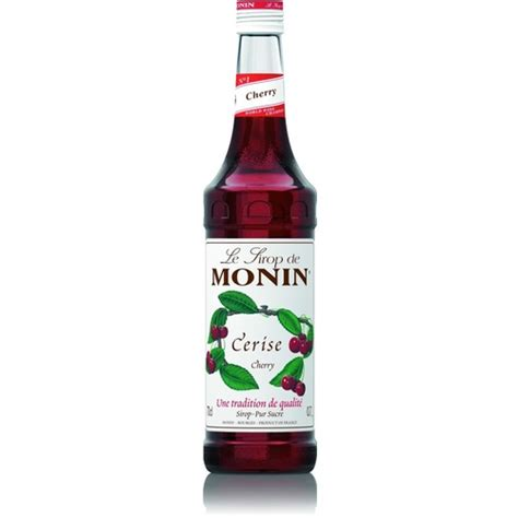 Monin Cherry 700 Ml Cafe Coffee Original Syrup Monin Cherry Syrup 700 Ml