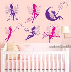 Wall Stickers Girls Bedroom 6 Magic Fairy Wall Stickers Girls Removable Vinyl Art