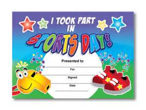 Sports Day Certificate Templates Free Free Sports Day Certificates For Children Travelodge