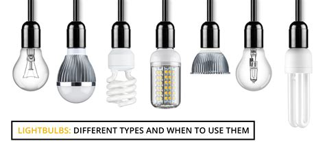 different types of lighting and how to use them light bulbs different types and when to use them wire craft