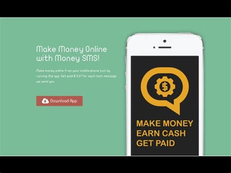 Make Money Online Money Sms - make money online money sms android app on appbrain