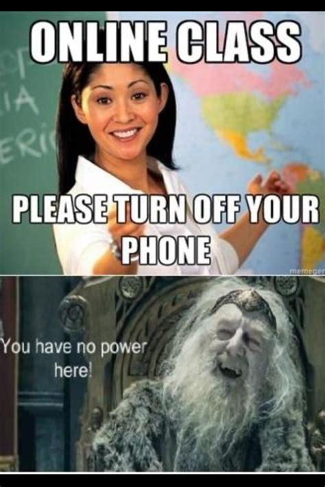 Online Class Meme - image 477460 unhelpful high school teacher know