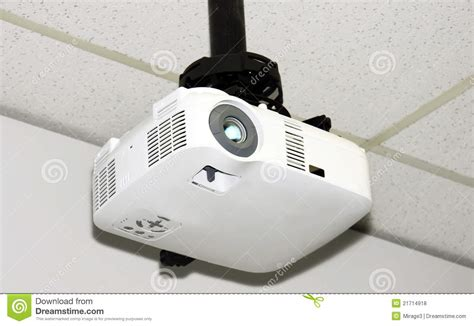proiettore soffitto proiettore soffitto fotografie stock libere da diritti