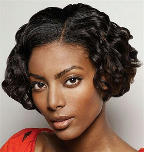 black american hair style on a circle face to school short hairstyles natural short hairstyles for black hair