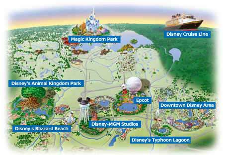 disney hotels florida map distiny disney of florida tourism and travel