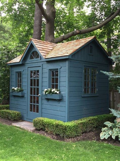 sheds and playhouses tiny green cabins how to choose an attractive color scheme for your shed