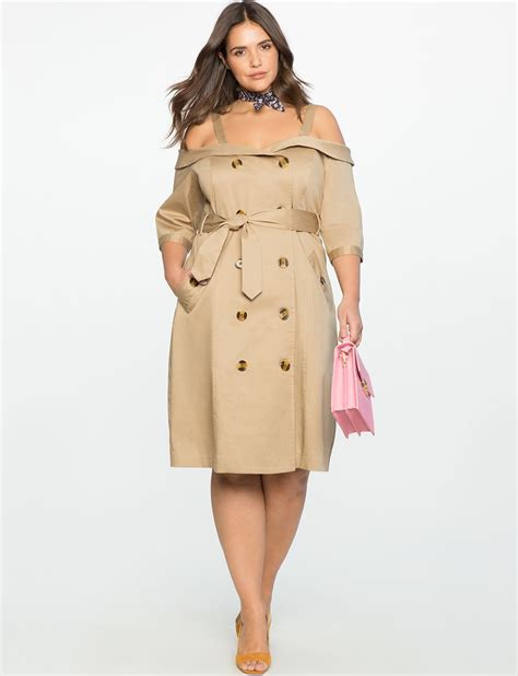 Shopping Doori Trench Coat Dress by Studio The Shoulder Trench Dress S Plus Size