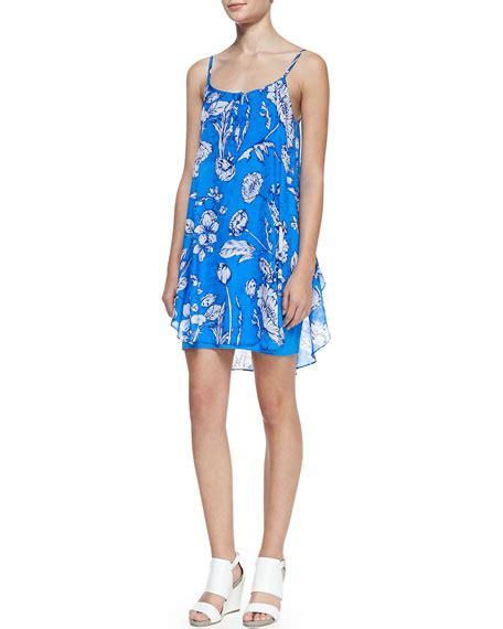 Printed Tank Dress rhi printed tank dress