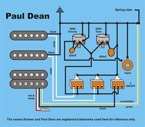 dean guitar wiring diagram 26 wiring diagram images