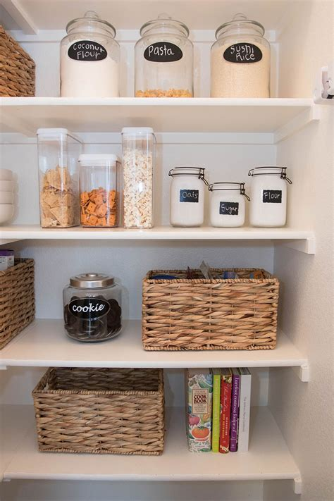 pantry organization tips with at home stores by