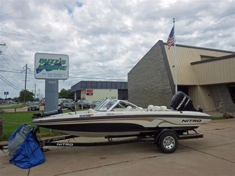 ski boats for sale nebraska 2010 used nitro 189 sport ski and fish boat for sale