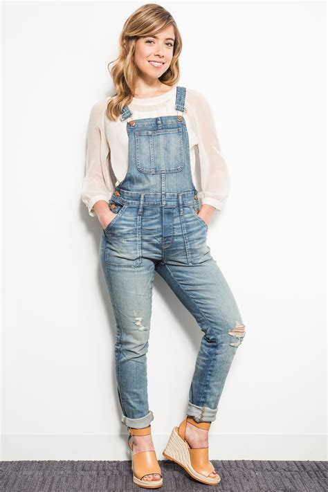 is madewell denim the best the small things blog how they fit the madewell overalls have just enough