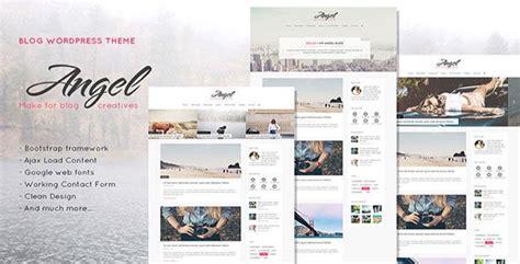 angel v1 1 0 creative elegant blog wordpress theme