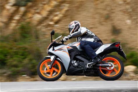 125er Motorrad F Hrerschein Kosten by Honda Cbr 125 R Testbericht