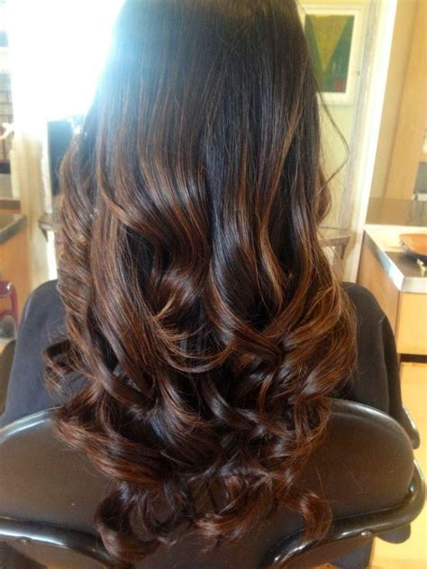 brunette hair ombre images sombre thedailyhairstylist