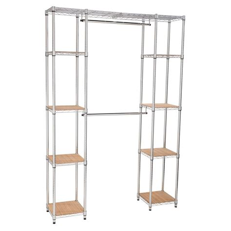 Homedepot Closet Organizers by White Wire Closet Systems Wire Closet Organizers Closet Storage Organization The Home