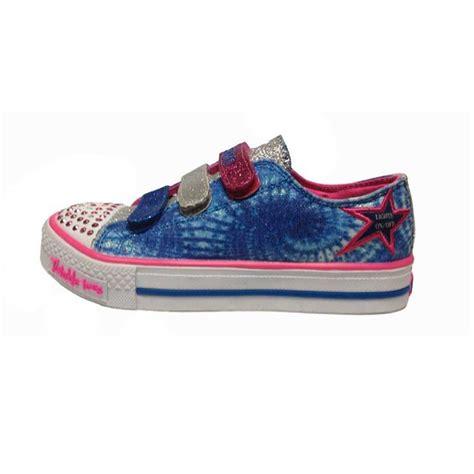 skechers light up shoes skechers 10383l twinkle toes shuffles peace n