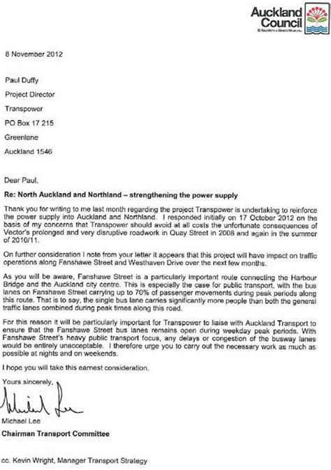 Business Letter For Trucking Services Letter 171 Transportblog Co Nz