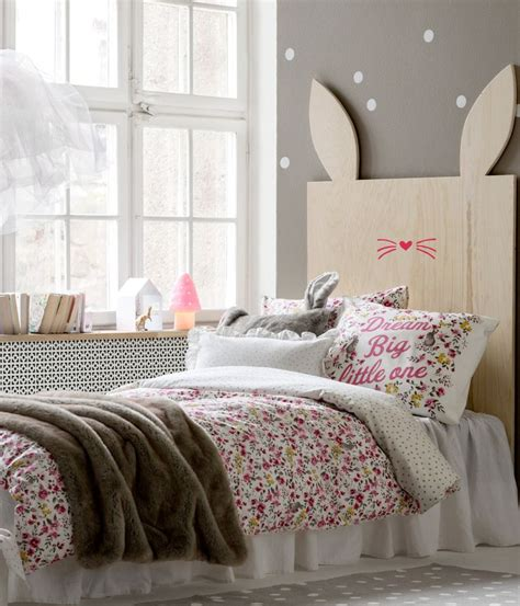 rabbit in bedroom rabbit headboard h m de bedroom for kids pinterest
