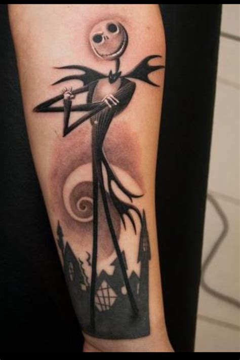 the nightmare before christmas tattoo designs cool skellington cool tattoos