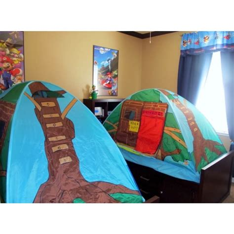 amazon com pacific play tents kids tree house bed tent playhouse geekshive pacific play tents tree house bed tent 19790