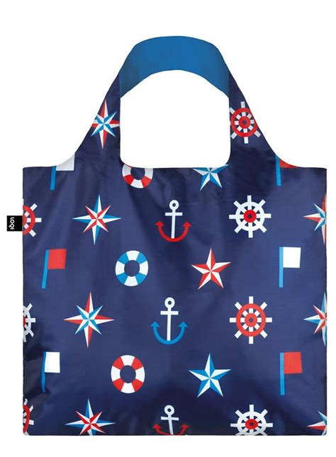 Couture Preppy Sailing Tote Establishment Slouch Bag by Gifts And Stationery Tote Bags