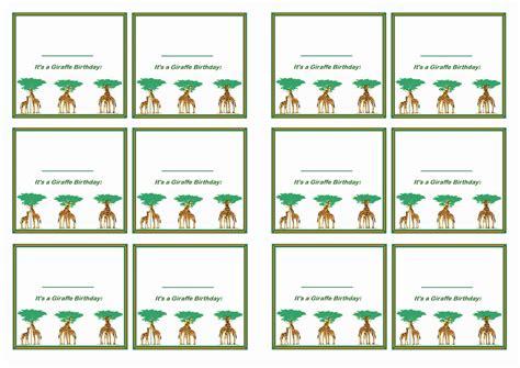 printable name tags for birthday party giraffe name tags birthday printable