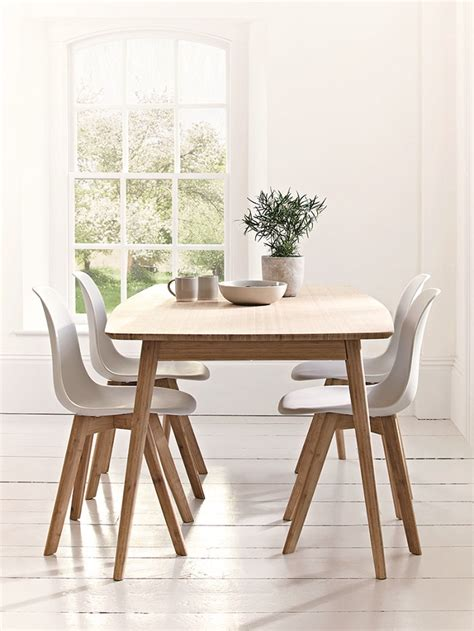 dining room table and chairs scandinavian style dining room furniture homegirl