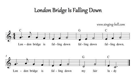 Bridge Of Light Lyrics Free Nursery Rhymes Gt London Bridge Is Falling Down Free