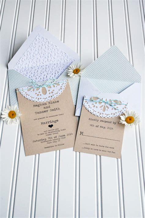 diy doily wedding invitation we r memory keepers
