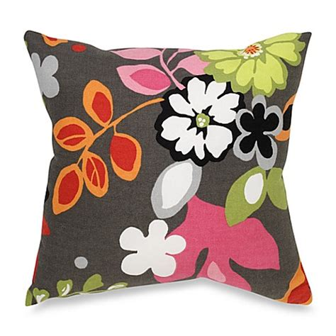 bed bath and beyond kirby glenna jean kirby floral throw pillow bed bath beyond