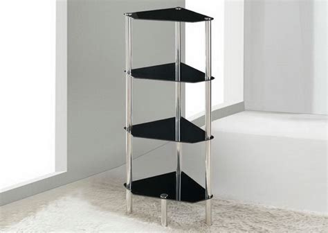Bathroom Table Stand by 4 Tier Triangle Glass Stand Coffee Table Bathroom