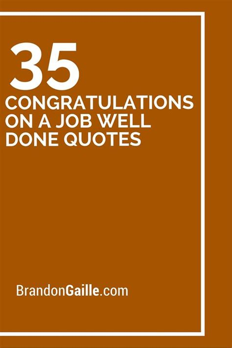 Wedding Congratulations Verbiage by 35 Congratulations On A Well Done Quotes Well Done