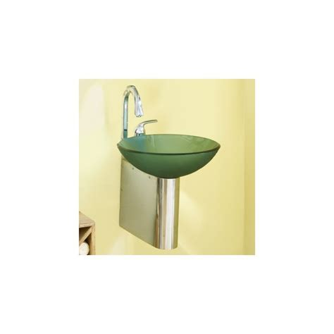 vessel wall mount bracket faucet com 4001 b in brushed by decolav