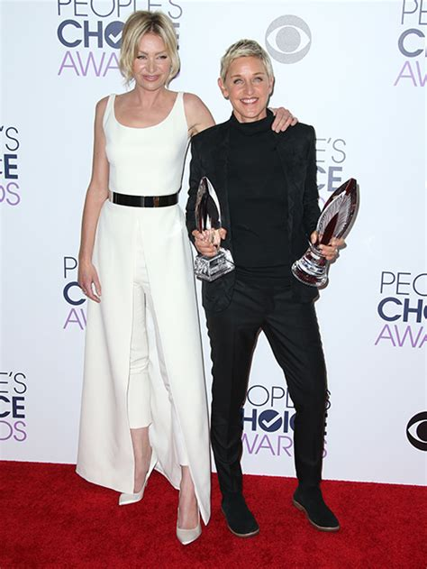 degeneres and portia de up did degeneres and portia de up portia