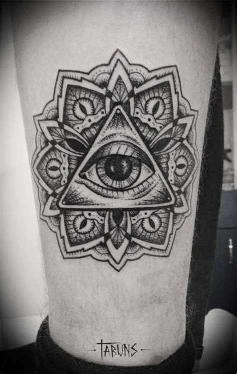 tattoo mandala illuminati http tattoo ideas us black ink pinterest all