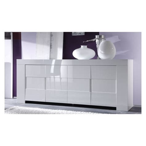 White Gloss Sideboards eos white gloss sideboard sideboards home furniture