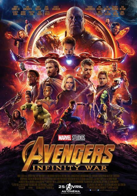 film marvel in streaming avengers 3 infinity war allocin 233