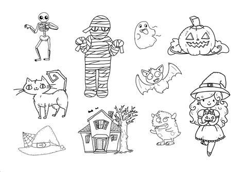 dibujos halloween a color imagui halloween en colores dibujos infantiles para colorear