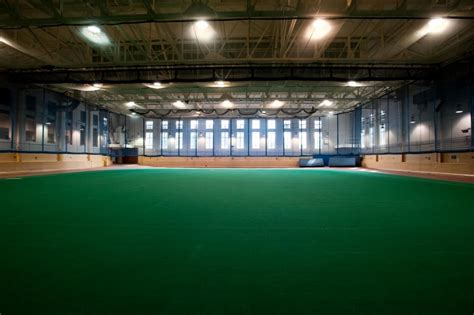 The Field House by Robert B Goergen Athletic Center Athletics And