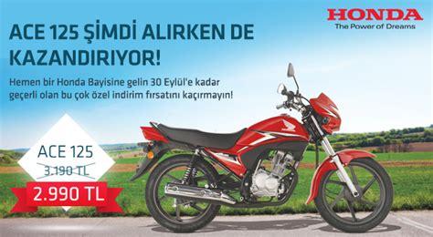 honda ace  motosiklet kampanyasi motobilimcom