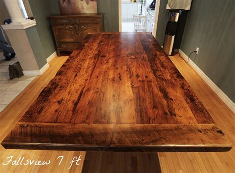 how to clean cherry wood dining room table reclaimed wood 3 plank post table in grimsby ontario
