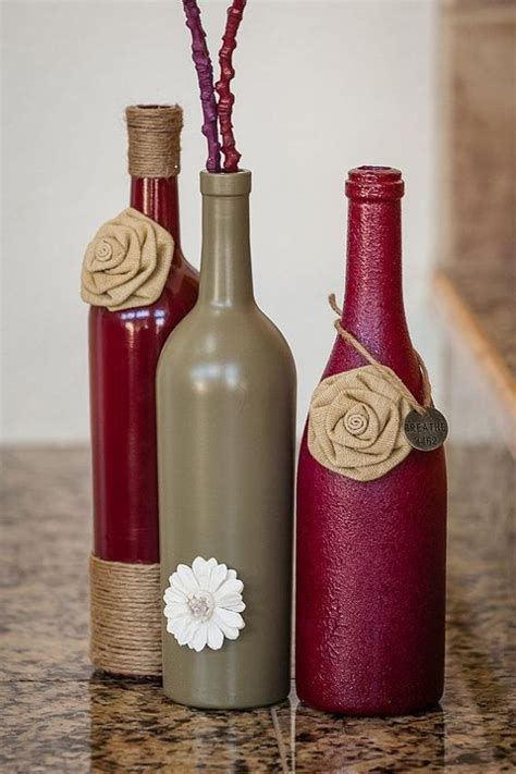 wine bottle craft projects 40 gorgeous images to reuse wine bottle into diy projects