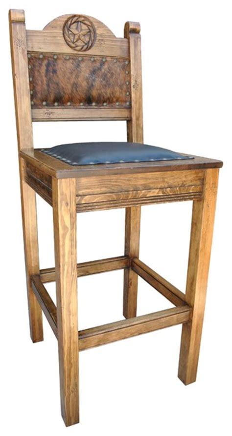 western bar stool cowhide southwestern bar