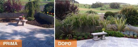 Giardini Prima E Dopo by Realizzazione Di Parchi Giardini Mediterranea Giardini