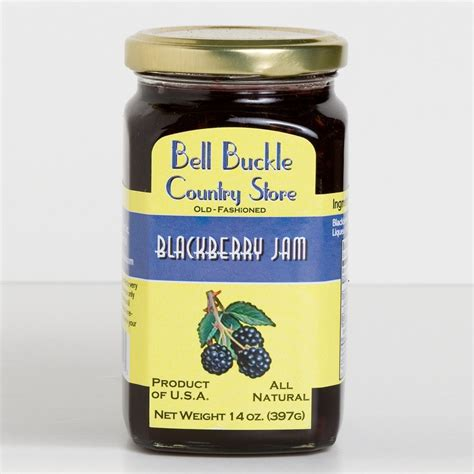 Jam Bell And bell buckle country store blackberry jam bell buckle