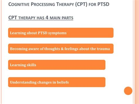 parts therapy ppt cognitive processing therapy cpt for ptsd ashlee